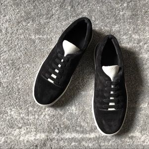 LAST CALL vince suede sneakers